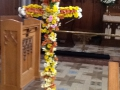 Floral Cross at St Mary Magdelene