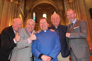 Comedians distribute £195,000 at Good Samaritans Service