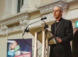 Archbishop of Canterbury speaks on reconciliation at Theological Lecture