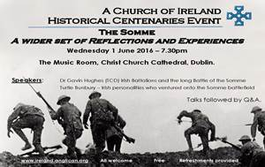 Historical Centenaries Working Group event to mark centenary of the Somme