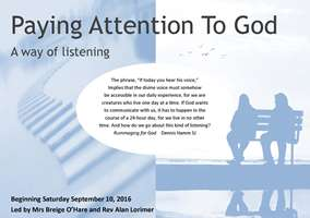 Course in 'Paying Attention to God'