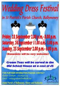Wedding Dress Festival in Ballymoney
