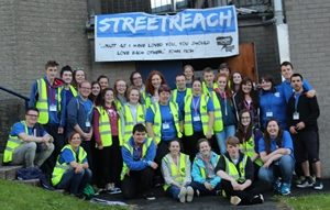 The Connor Streetreach 2016 team.