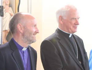 Bishops Abernethy and Treanor welcome north Belfast agreement