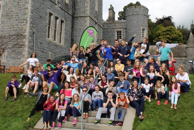 Young people from Connor Diocese had a fantastic time at the Take the Castle youth weekend in Castlewellan.