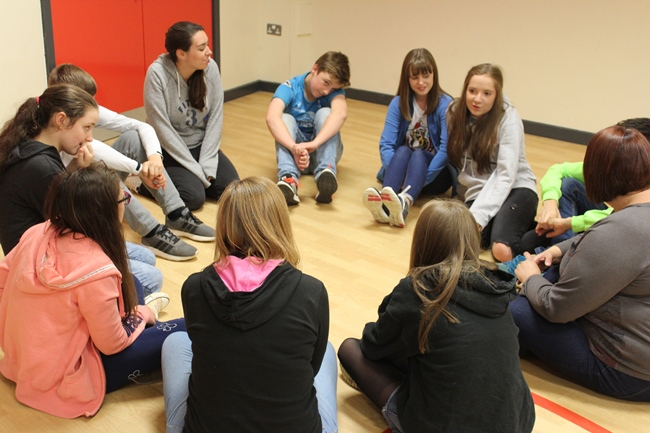 Time to get to know each other at Reveal, where the Diocesan Youth Forum was launched.