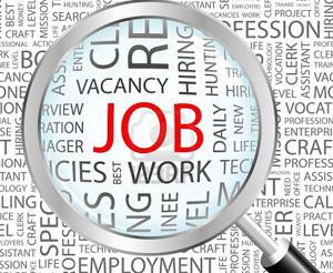 News of job opportunities