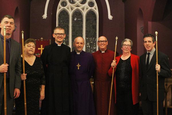 Institution of the Rev Jonny Campbell-Smyth in Ballynure and Ballyeaston