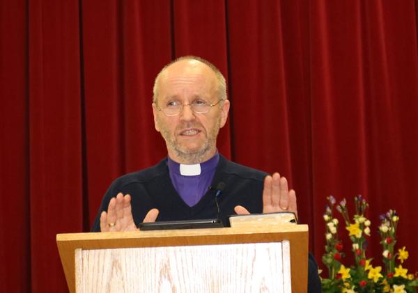 Good attendance at Bishop's Lent Talk in Bushmills
