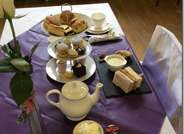 Afternoon tea in St Katharine's