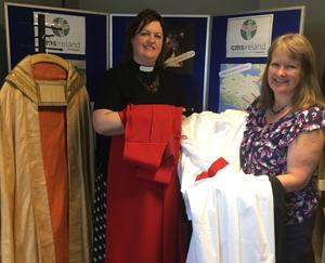 Handmade robes destined for Burundi