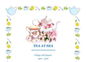Invite to Mission to Seafarers' 'Tea at Sea'
