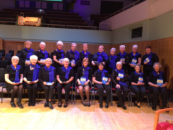 Connor MU Members join choir for 130th celebrations