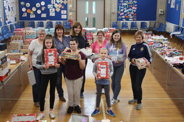 Magheragall supports Blythswood Care's Shoebox Appeal
