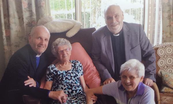 Bishop wishes Margaret a happy 100th birthday
