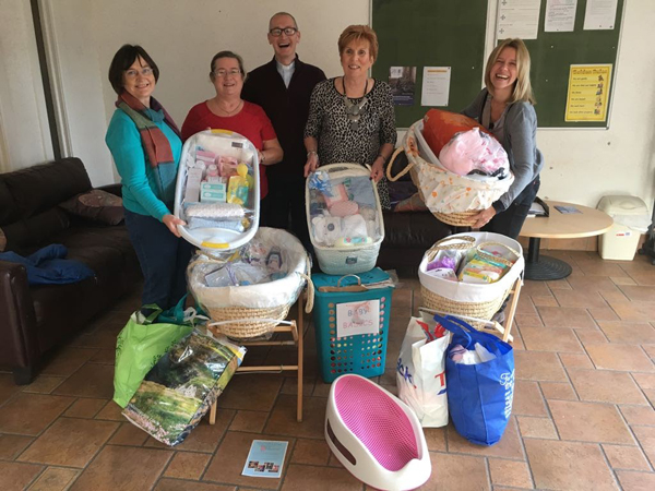Greenisland Parish completes Baby basics challenge