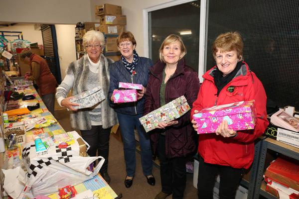 Kilbride Parish helps with Christmas shoebox gifts