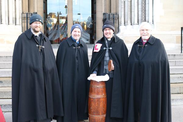 Bishops help launch Black Santa Sit-out