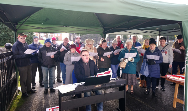 Carols at the Gate at Christ Church, Lisburn