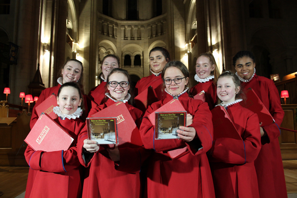 Belfast Cathedral Choir launches new Christmas CD