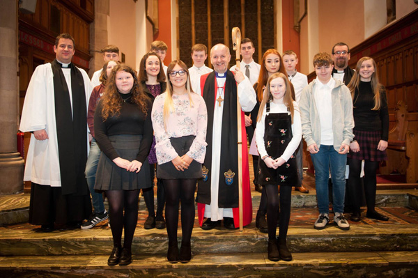 Confirmation in St Patrick's, Ballymena