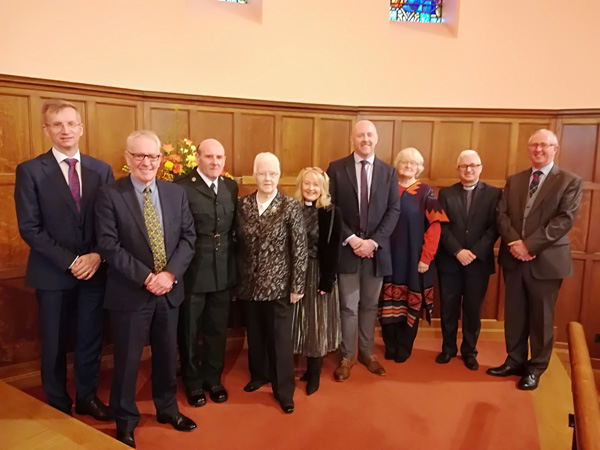 Special guests at nine readings and carols in St Matthew's