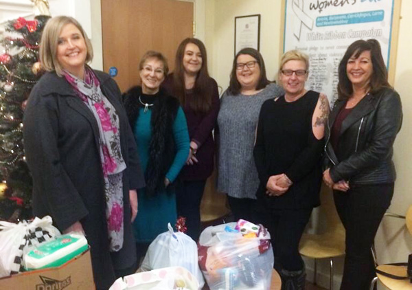 Portglenone Parish supports Women's Aid
