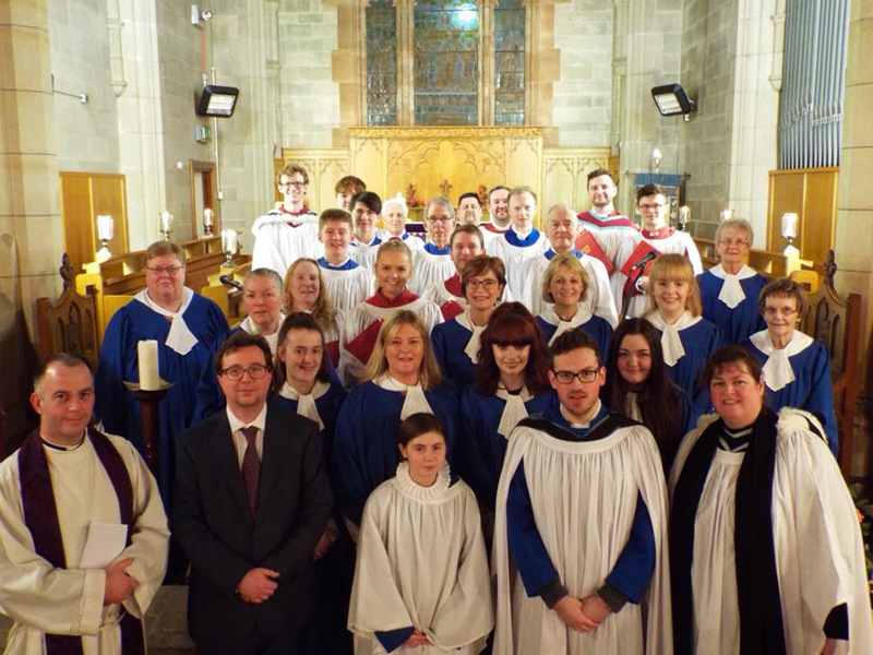 St Polycarp's welcomes St Anne's Choir for Choral Evensong