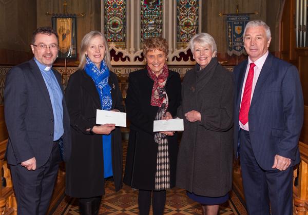 Christ Church, Lisburn, raises more than £4,000 for two charities