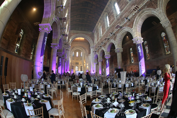 An evening of fine dining at Belfast Cathedral