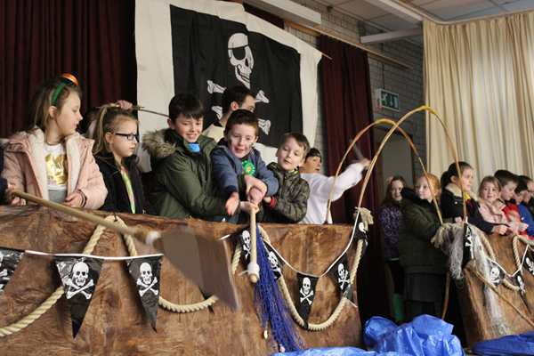 Patrick's Mysterious Adventure a huge success in Broughshane