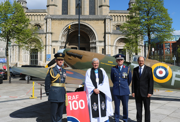 Belfast Cathedral hosts service celebrating 100th anniversary of RAF