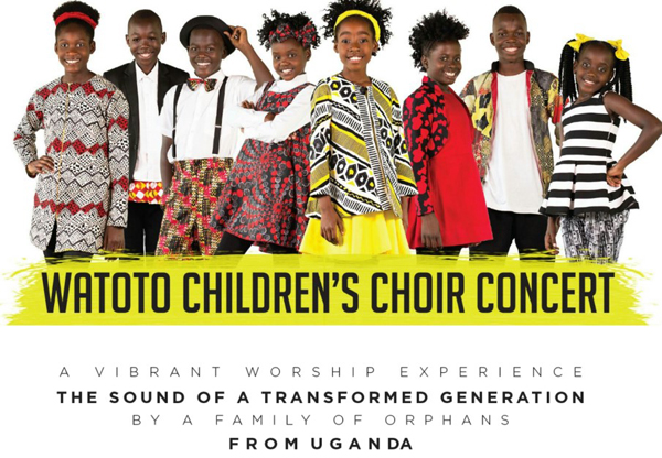 Concert by Watoto Children's Choir in Mossley Parish