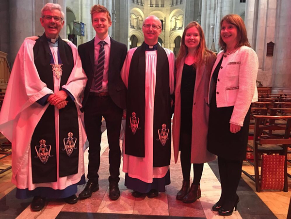 Stephen Fielding installed as Canon of Belfast Cathedral