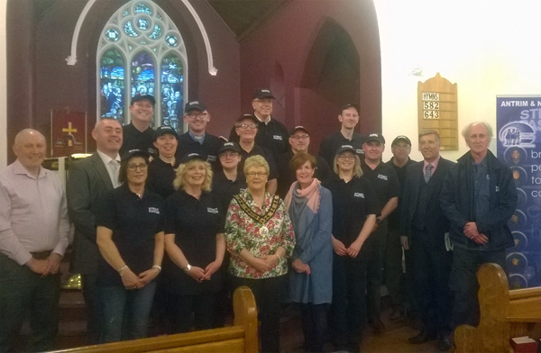 Commissioning of Street Pastors in Ballyclare