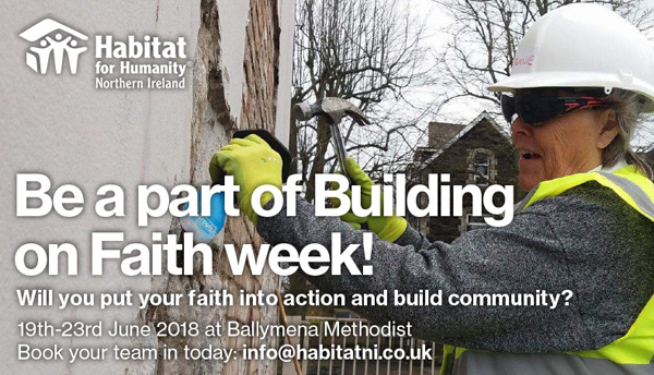 Habitat for Humanity building project in Ballymena