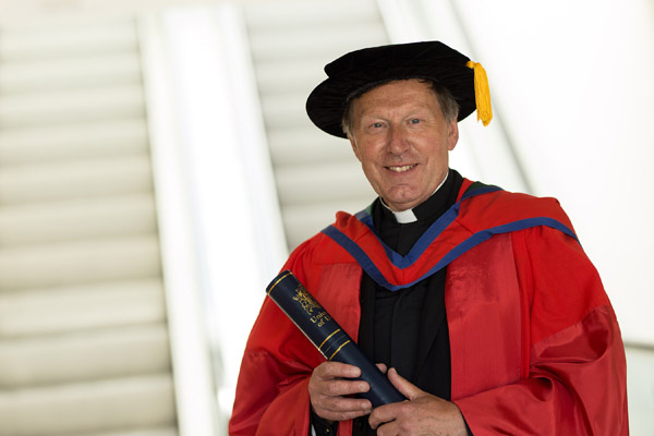 Former Dean of Belfast receives Honorary Doctorate