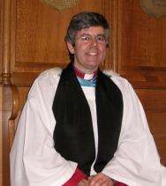 The Ven Stephen Forde, Archdeacon of Dalriada.