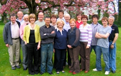 The team heading to Uganda. Dr Scott Brown, team leader, is seventh from right.