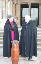 Bishop Harper and Dean Houston McKelvey.