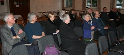 A section of the audience at the opening session of the Celtic Spirituality Weekend.