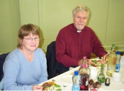 The Bishop of Down and Dromore, the Rt Rev Harold Millar, was a special guest at the St Katharine's celebrations.