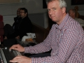 David Lamont mixing the sounds at Energize in Lisburn Cathedral on Sunday 20th November.