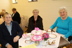Great fun at Vintage Tea Party in Lower Shankill