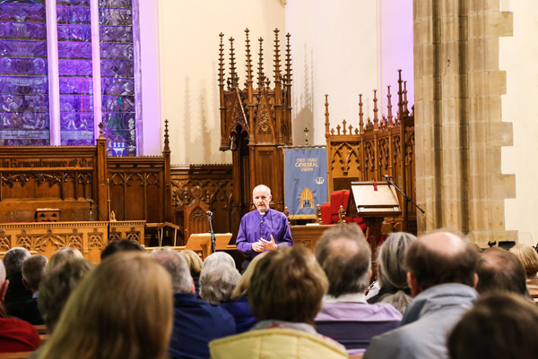 150 attend Bishop's Lent Talk in Lisburn
