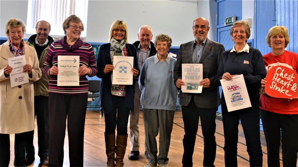 Whitehead and Islandmagee Lenten Lunches charity donations