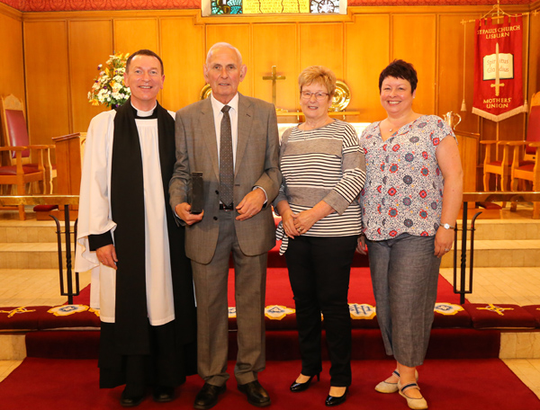 St Paul's Sexton retires after 32 years