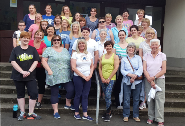 30 walkers take part in Fit4Life in Ballymena