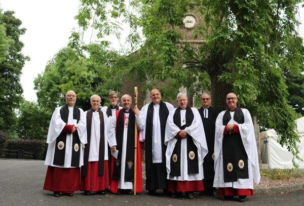 Institution of new rector in Muckamore, Killead and Gartree
