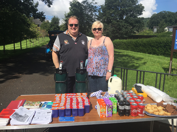 Cloughfern parish provides refreshments on the Twelfth